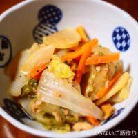 ツナと白菜の生姜煮
