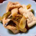 【豆腐と白ネギの炒め物】簡単料理と献立