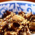 【舞茸のきんぴら】簡単料理と献立