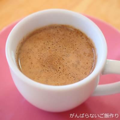 自宅で淹れたトルココーヒー