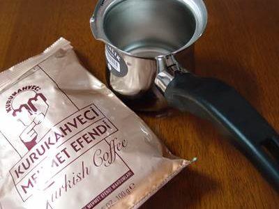 トルココーヒーとジェズべ