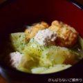 【鶏つみれとキャベツの鍋】簡単料理と献立