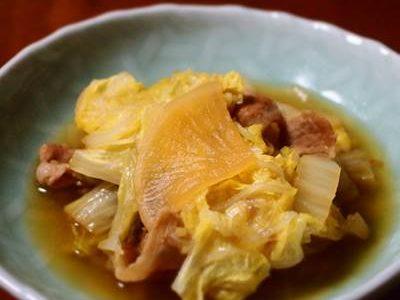 白菜・大根・豚肉煮