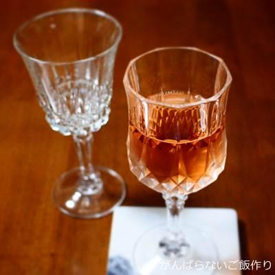 アルク社のワイングラス