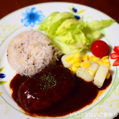 日本ハム 豊潤 デミグラスハンバーグ ワンプレート