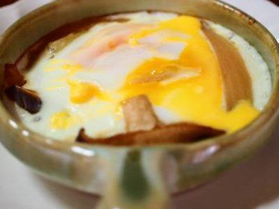 エッグベーカーで卵料理