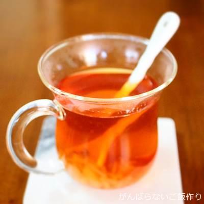 白桃ジャム入り紅茶