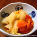 【白菜・大根・人参の煮物】簡単料理と献立