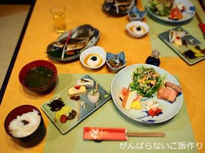 桜舞 朝食